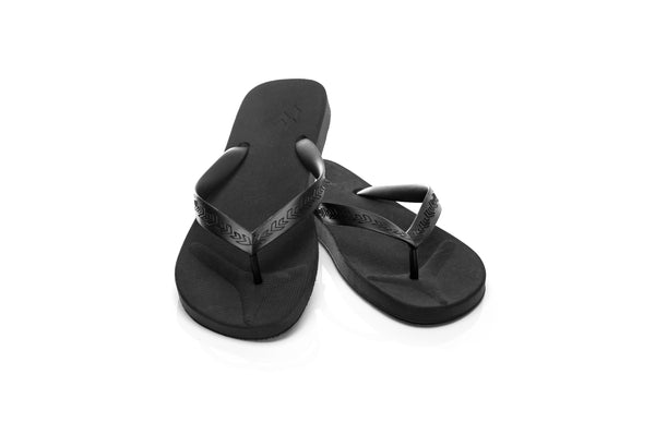 Malvados, mens, comfortable, supportive, toe, pillow, cushion, flip flop, onyx