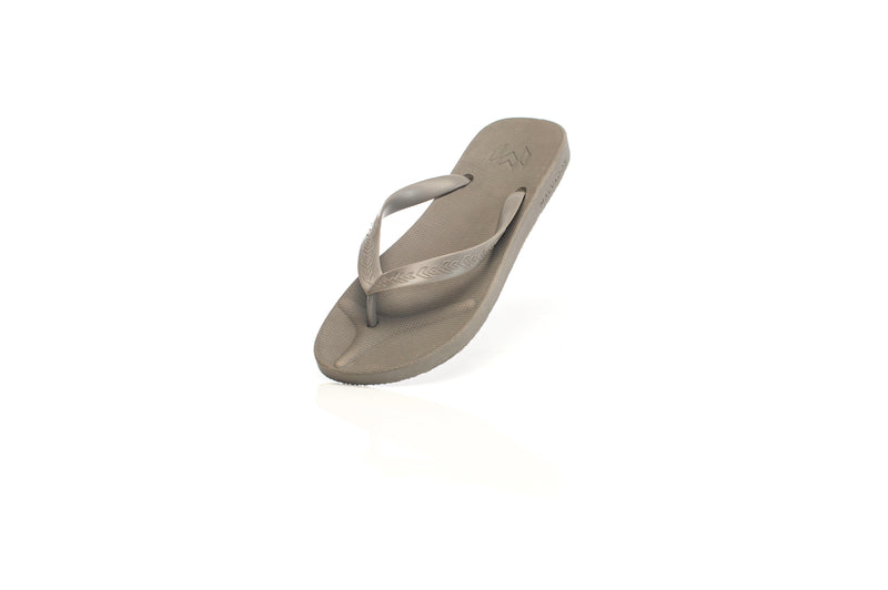 Malvados, mens, comfortable, supportive, toe, pillow, cushion, flip flop, slate