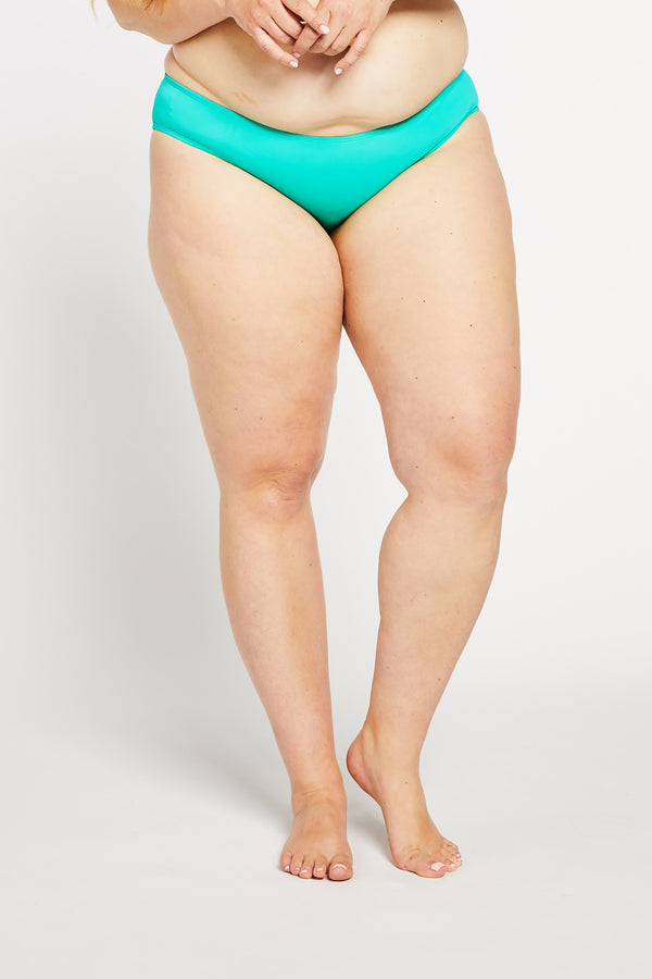 Aqua Bay Swim Co, comfortable, sporty, swimwear, bikini, bottom, ruched, cheeky, bum, Aqua
