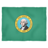 Washington State Flag - Fleece Blanket