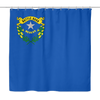 Nevada State Flag Shower Curtain