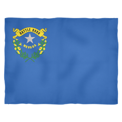 Nevada Flag - Fleece Blankets