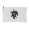 Massachusetts Flag Accessory Bag