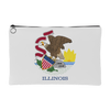 Illinois Flag Accessory Bag