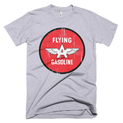 Flying A Gasoline Button Logo Vintage - Short sleeve men's t-shirt