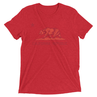 California Red Bear - Men's Short sleeve t-shirt