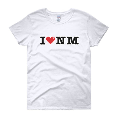 I (Heart) New Mexico (NM) -  Women's short sleeve t-shirt