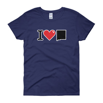 I (Heart) New Mexico - Women's short sleeve t-shirt