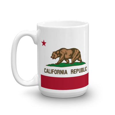 California Flag 15 oz Mug