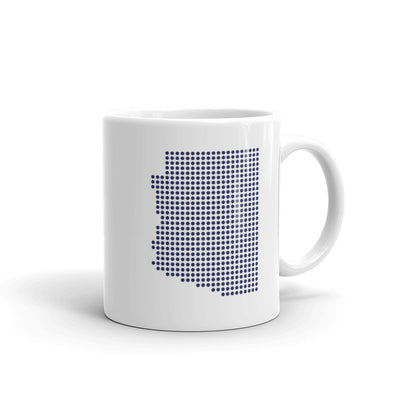 Arizona Dot White 11 ounce Mug