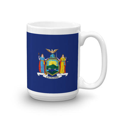 New York Flag 15 oz Mug