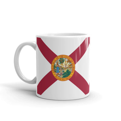 Florida Flag Mug 11 oz