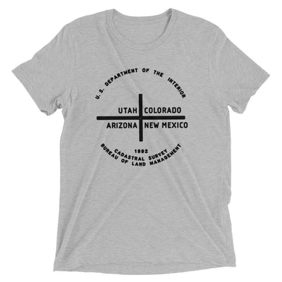 Four Corners State vintage unisex short sleeve t-shirt