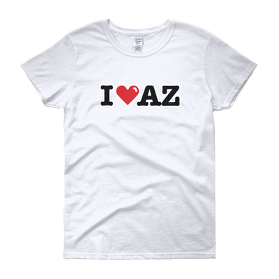 I (Heart) Arizona (AZ) -  Women's short sleeve t-shirt