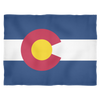 Colorado Flag - Fleece Blanket