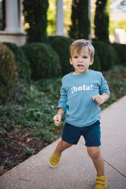 ¡hola! long sleeve tee