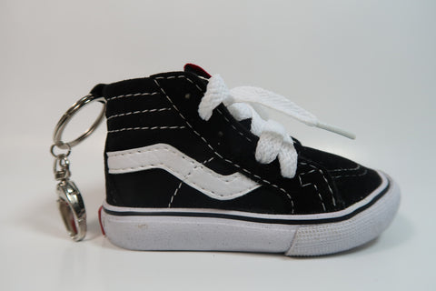 Vans Black and White Shoe Charger