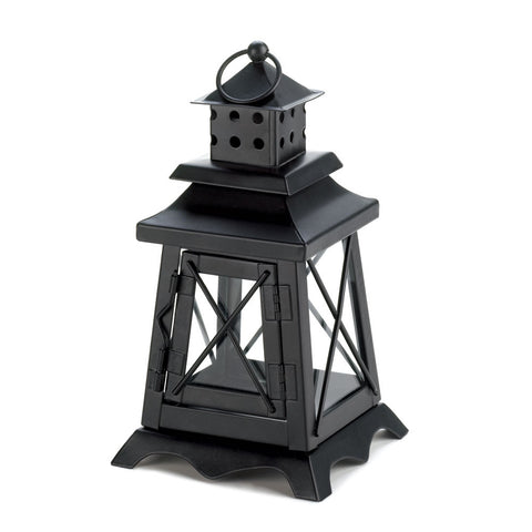 Beautiful Black Lighthouse Lantern - Mile High Bazaar