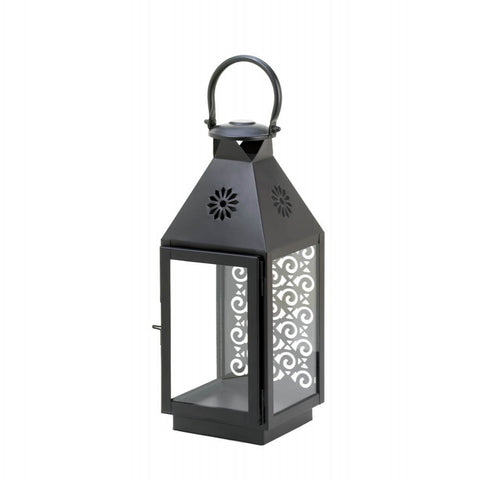 Small Iron Candle Lantern - Mile High Bazaar