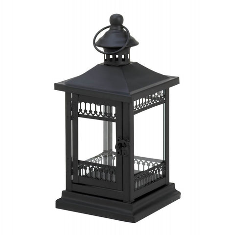 Simply Black Garden Candle Lantern - Mile High Bazaar