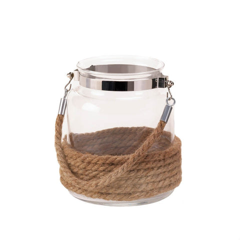 Dockside Small Candle Lantern - Mile High Bazaar