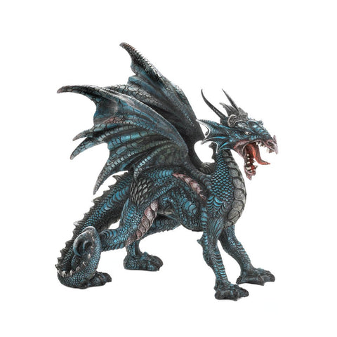 Fierce Dragon Statue - Mile High Bazaar