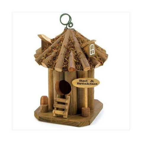 Bed And Breakfast Birdhouse (pack of 1 EA) - Mile High Bazaar
