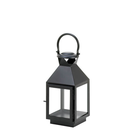 Medium Classic Black Candle Lantern - Mile High Bazaar