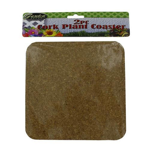 2 Pack plant coasters ( Case of 48 ) - Mile High Bazaar