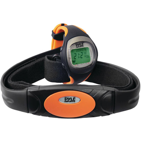 Pyle Heart Rate Monitor Watch With Maximum & Average Heart Rate - Mile High Bazaar