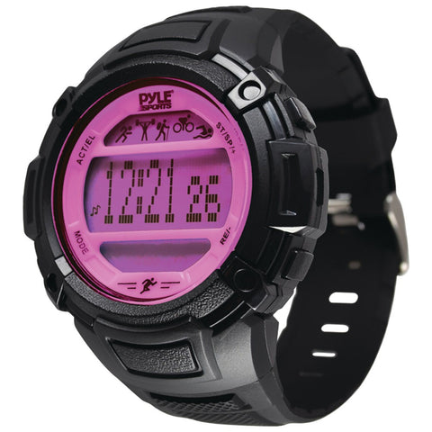 Pyle-sports Multifunction Activity Watch (pink) - Mile High Bazaar