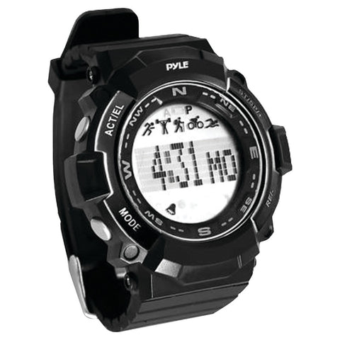 Pyle-sport Multifunction Sports Watch (black) - Mile High Bazaar