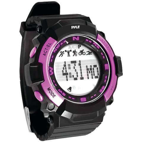 Pyle-sport Multifunction Sports Watch (pink) - Mile High Bazaar