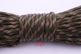 Multicolor Type III 7Strand Paracorde 550 100FT Outdoor Survival Rope