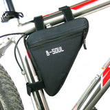 Multicolor Waterproof Triangular Cycling Pouches- Bags
