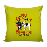 Pug Style Soft Cushion Pillow Cover