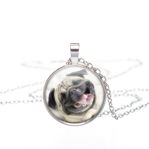 Pug 3D Printed Pendant Necklace (FREE plus Shipping)