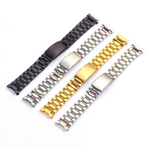 Men Stainless Steel Watch Straps 18mm 20mm 22mm 24mm