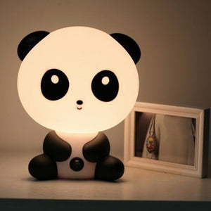 Kids Panda Night Time Sleeping Bed Lamp