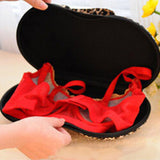 Bra Shaped Portable Lingerie Travel Cases For Women