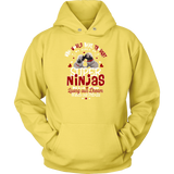 Ninja Tees Fur Pug ( Hoodies)
