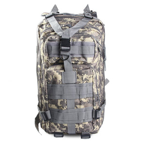MILITARY STYLE TACTICAL TRAVEL/CAMPING CAMOUFLAGE BACKPACK