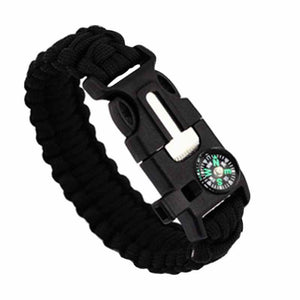 5 in 1 Survival Bracelet Paracord with Fire Starter Scraper Compass Whistle (FREE plus Shipping)