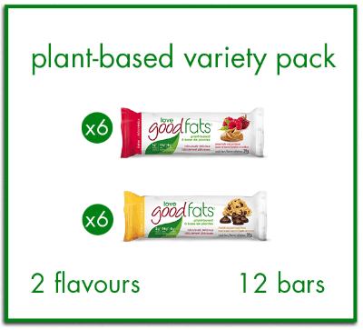 Plant-Based Variety Pack - 12 bars