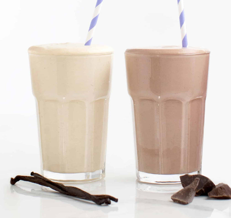 chocolate keto shake carton