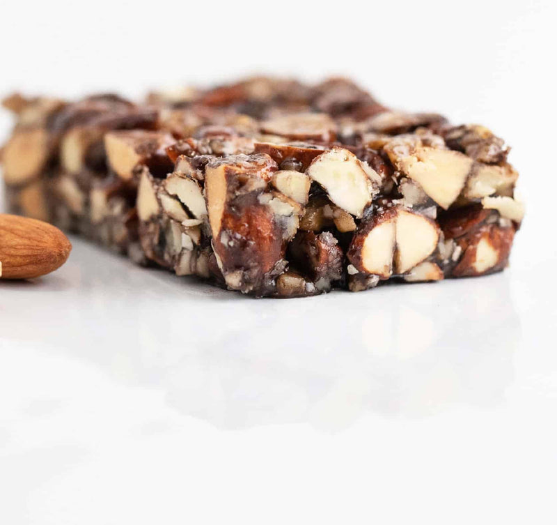 chewy nutty chocolatey almond