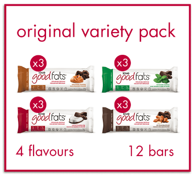 Love Good Fats Variety Pack (box of 12)