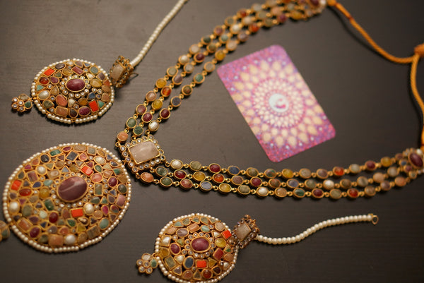 Rangeela necklace set