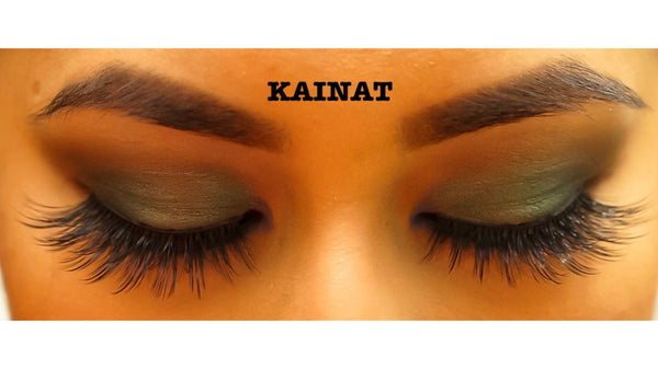 Mirror and you lashes (Kainat)