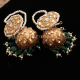 Regal bridal kundan set